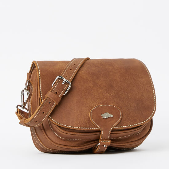Roots-Leather Handbags-English Saddle Tribe-Africa-A