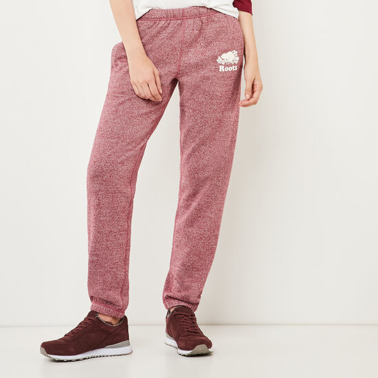 Roots-Women Original Sweatpants-Original Sweatpant-Rhododendron Pepper-A