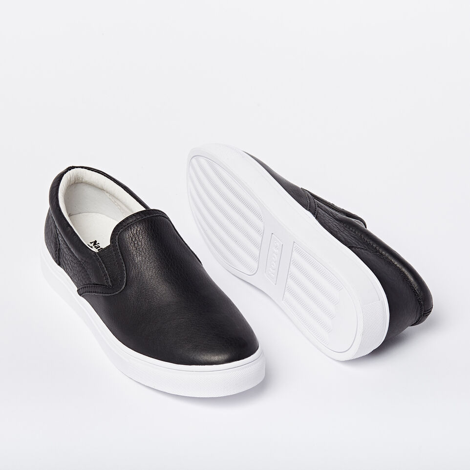 Roots-undefined-Mens Slip On Leather Sneaker-undefined-F