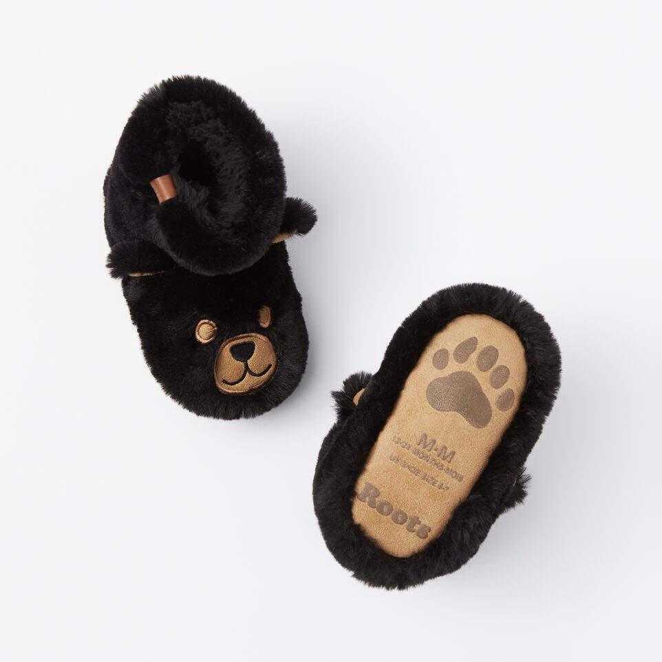 Roots-undefined-Toddler Bear Cub Slippers-undefined-C
