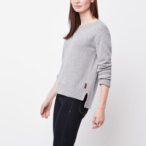 Roots-Women Sweaters & Cardigans-Evelyn Sweater-Grey Mix-A