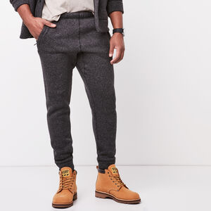 Roots-Men Pants-Campbell Pant-Black Mix-A