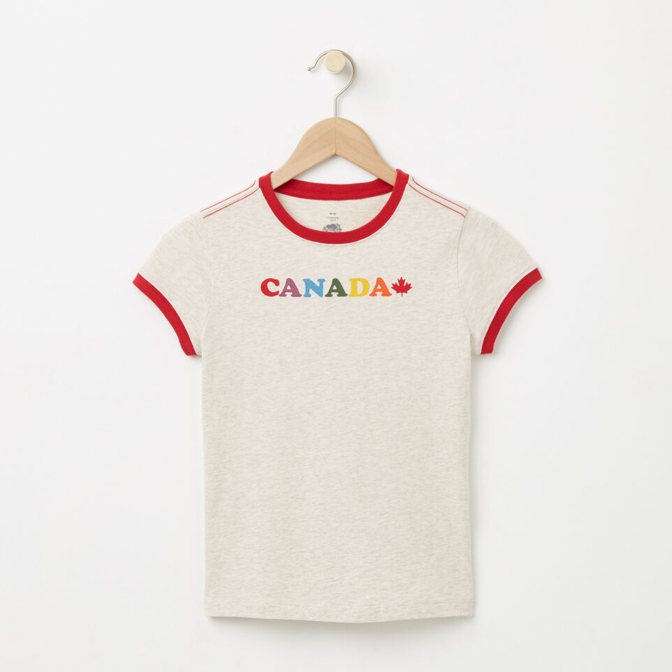 Roots-undefined-Girls Maple Canada Ringer T-shirt-undefined-A