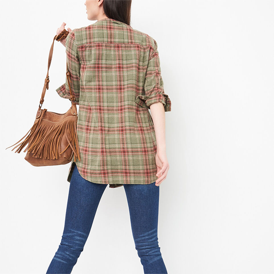 Roots-undefined-Tisdale Flannel Tunic-undefined-D