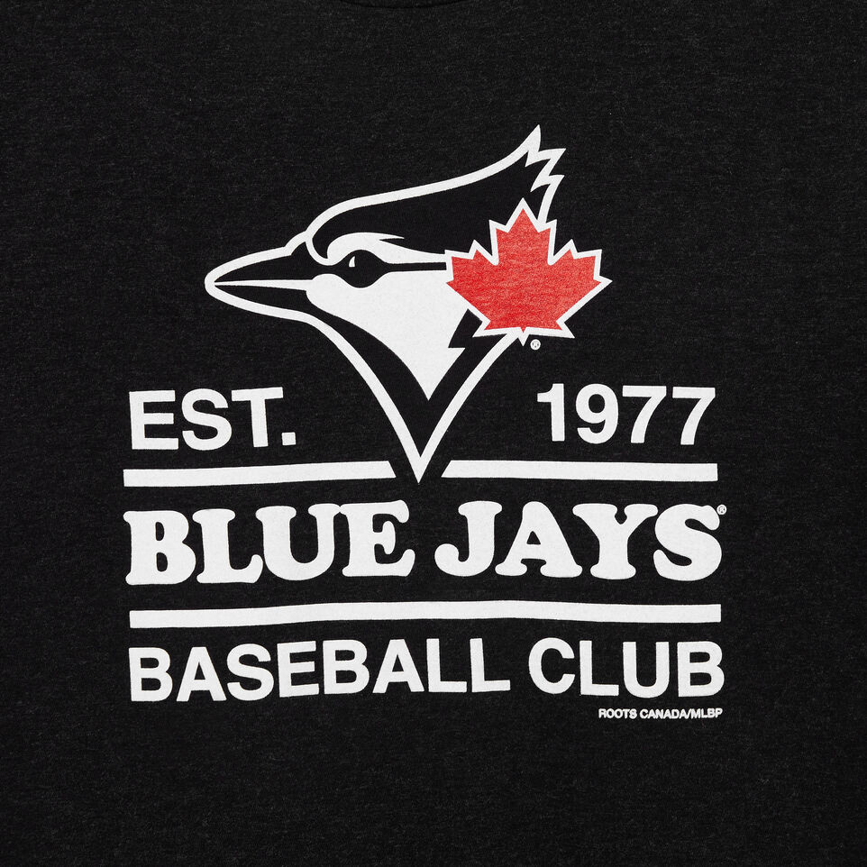 Roots-undefined-Womens Blue Jays Cooper T-shirt-undefined-C