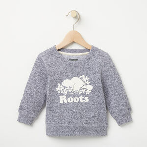 Roots-Kids Baby-Baby Original Sweatshirt-Salt & Pepper-A