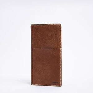 Roots-Leather Travel Wallets-Ticket Wallet Tribe-Africa-A