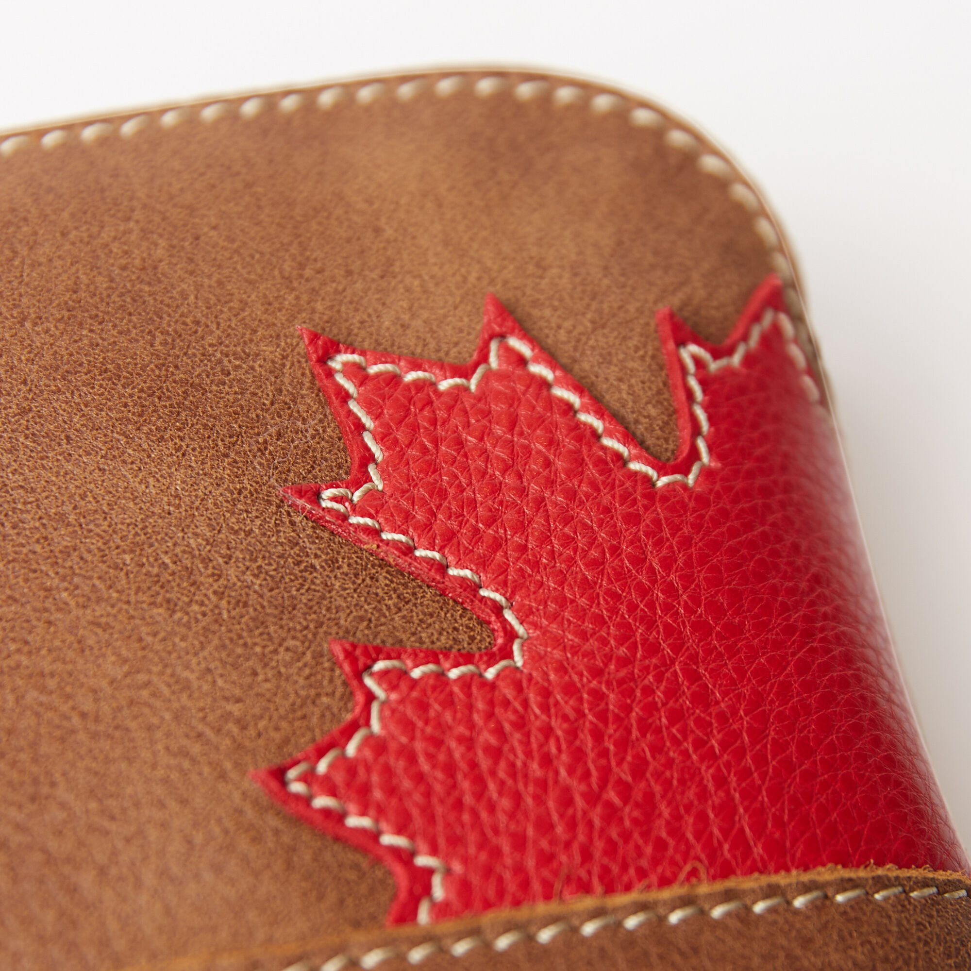 Maple Leaf Funky Zip Pouch Tribe