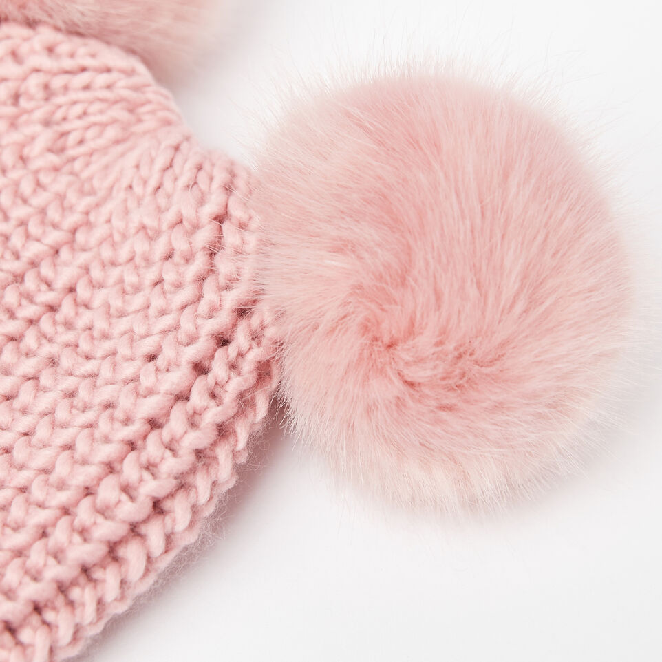 Roots-undefined-Girls Olivia Fur Pom Pom Toque-undefined-D