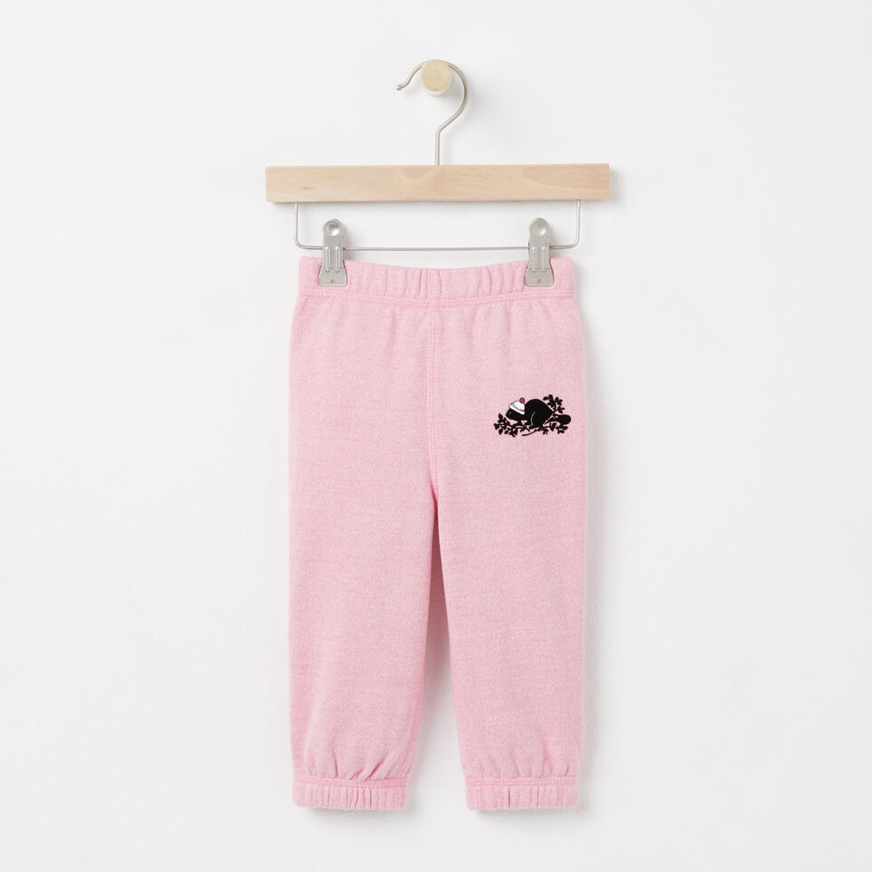 Roots-undefined-Baby Pom Pom Beaver Original Sweatpant-undefined-A
