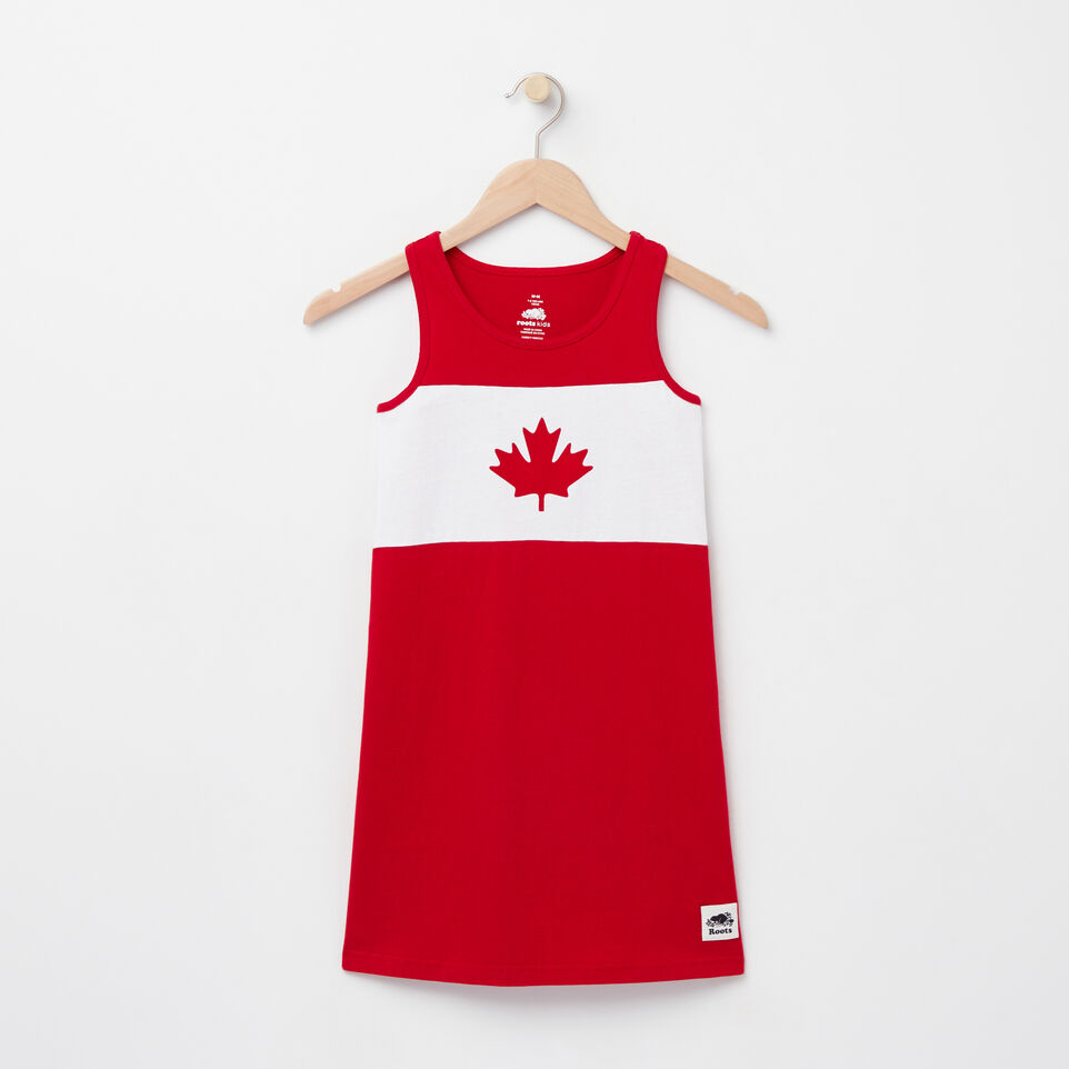 Roots-undefined-Girls Blazon Jersey Dress-undefined-A