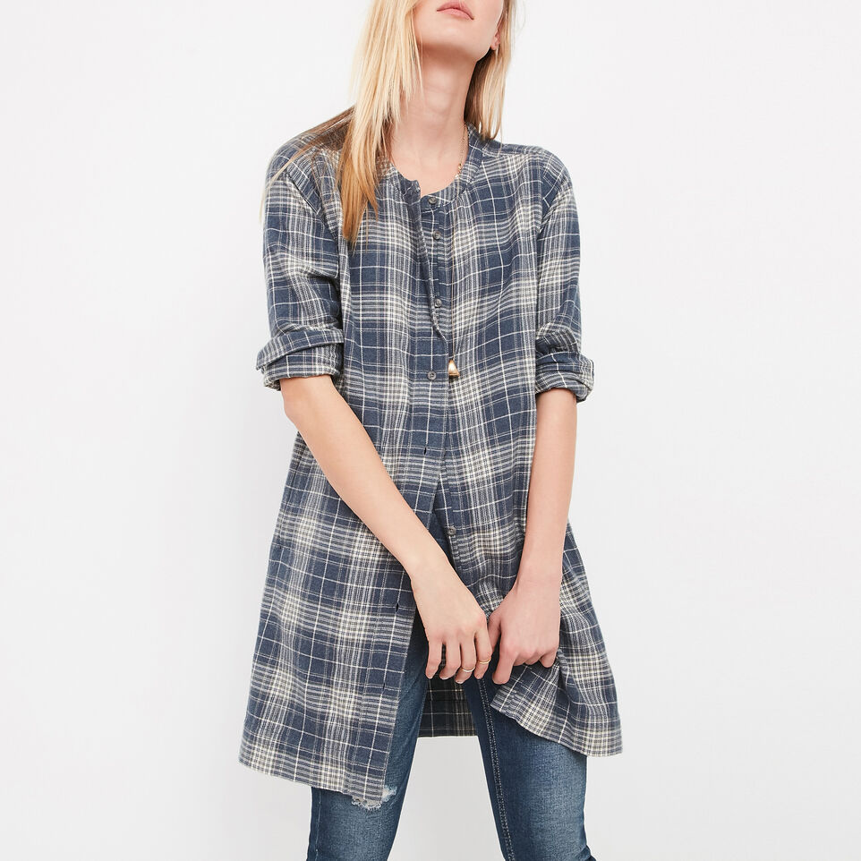 Roots-undefined-Kelowna Plaid Tunic-undefined-A