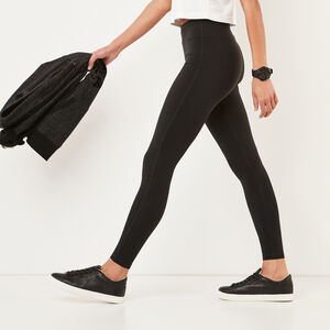 Roots-Women Leggings-Park Legging-Black-A