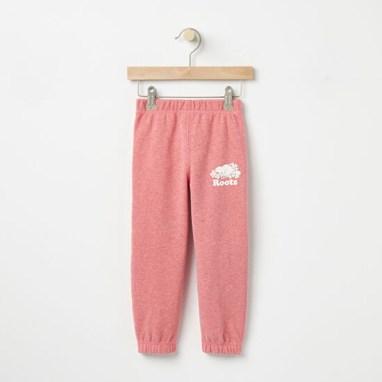 Roots-Kids Sweats-Toddler Roots Slim Sweatpant-Baroque Rose Mix-A