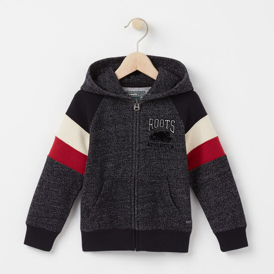 Toddler Colour Block Full Zip Hoody