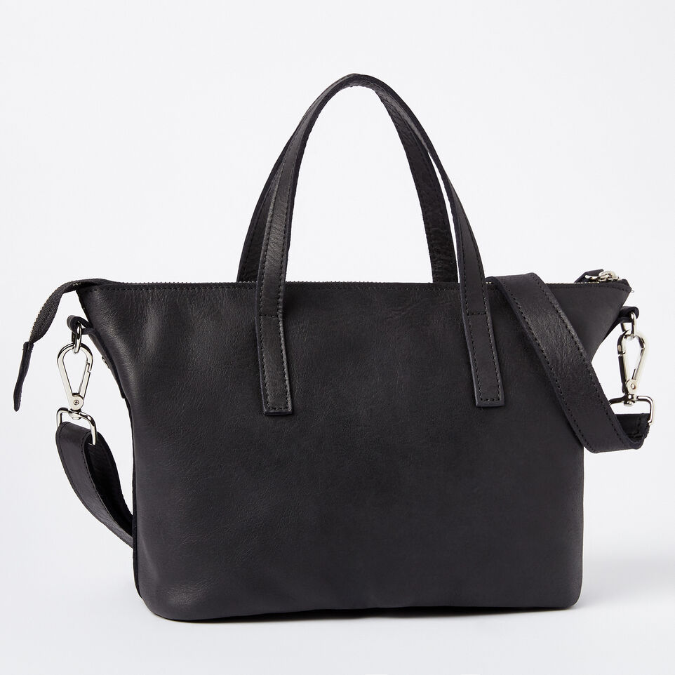 Roots-undefined-Petit sac Zoe en cuir Tribe-undefined-C