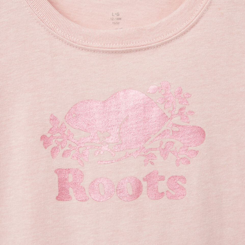 Roots-undefined-Baby Foil Cooper Beaver T-shirt-undefined-C