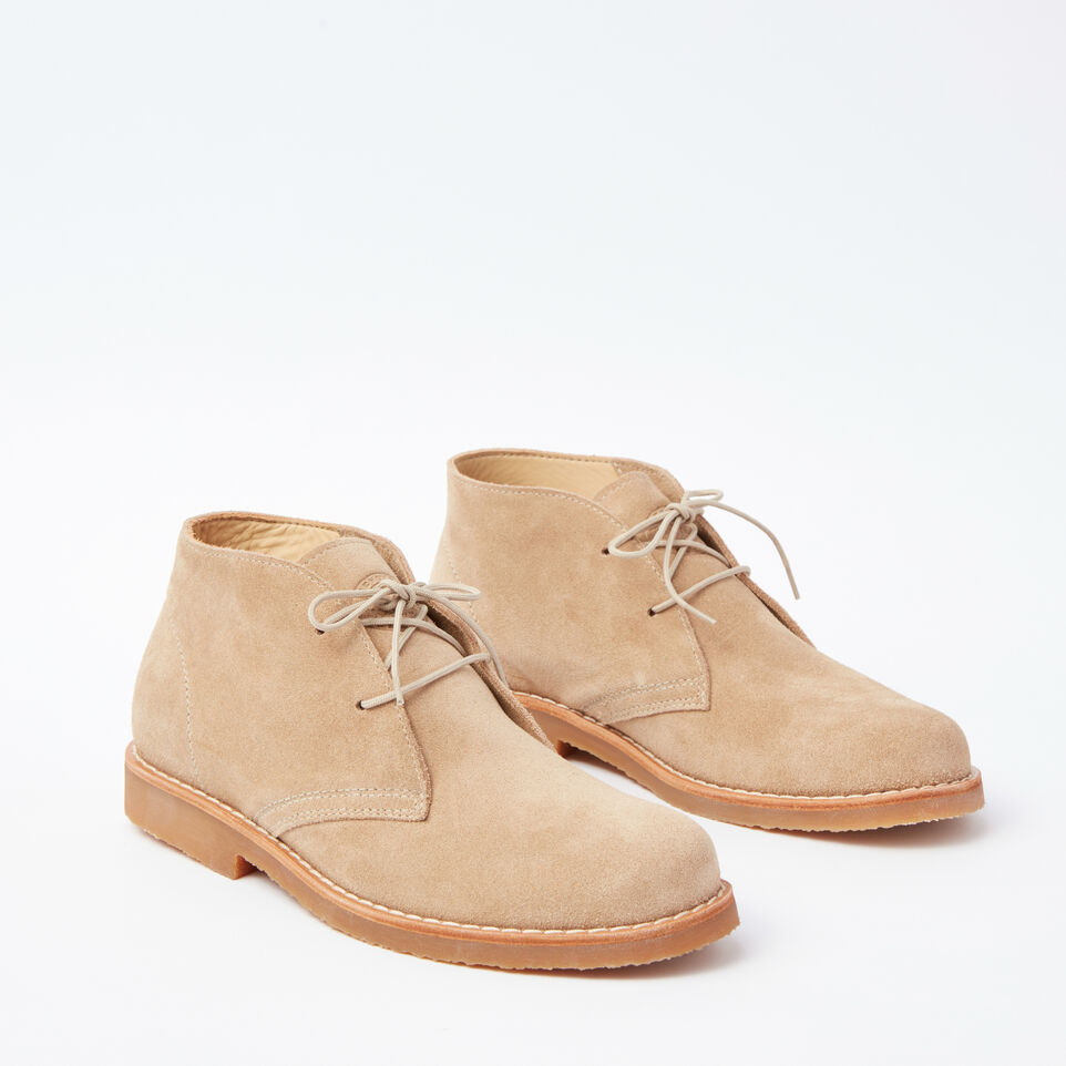 Roots-undefined-Botte Chukka cuir Suede pour hommes-undefined-B