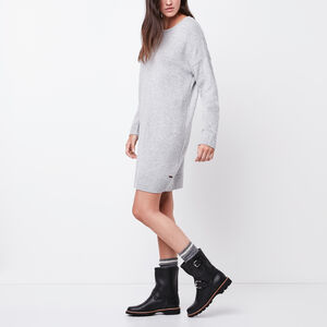 Roots-Women Dresses-Jessie Sweater Dress-Grey Mix-A