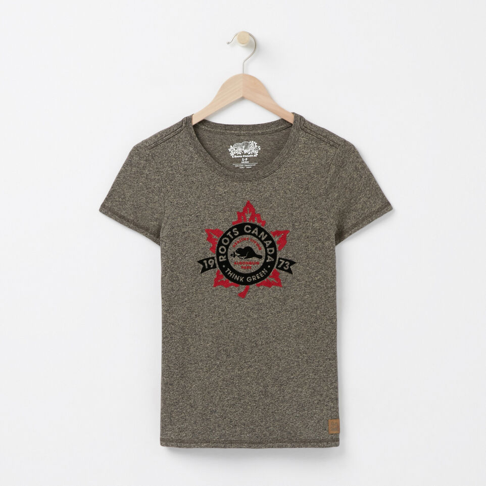 Roots-undefined-Heritage Leaf T-shirt-undefined-A