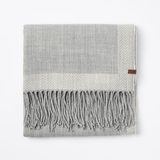 Roots-Women Scarves & Wraps-Hariette Scarf-Grey Mix-A