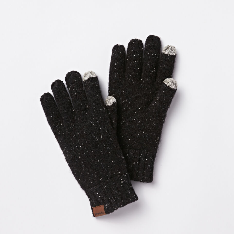 Roots-undefined-Mens Donegal Texting Glove-undefined-A