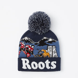 Roots-Kids Accessories-Kids Glow In The Dark Toque-Navy Blazer-A