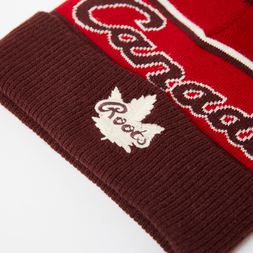Roots-undefined-Kids Canada Heritage Pom Pom Toque-undefined-D