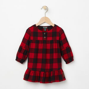 Roots-Kids Categories-Baby Algonquin Dress-Lodge Red-A