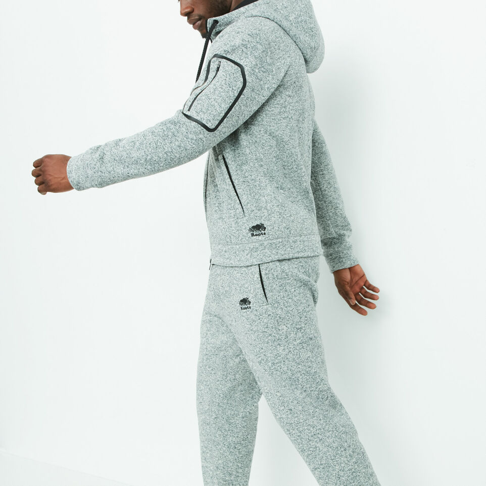 Roots-undefined-Lodge Knit Zip Hoody-undefined-B