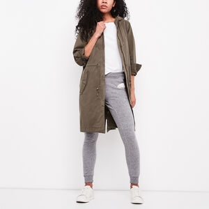 Roots-Women Outerwear-Norquay Parka-Dusty Olive-A
