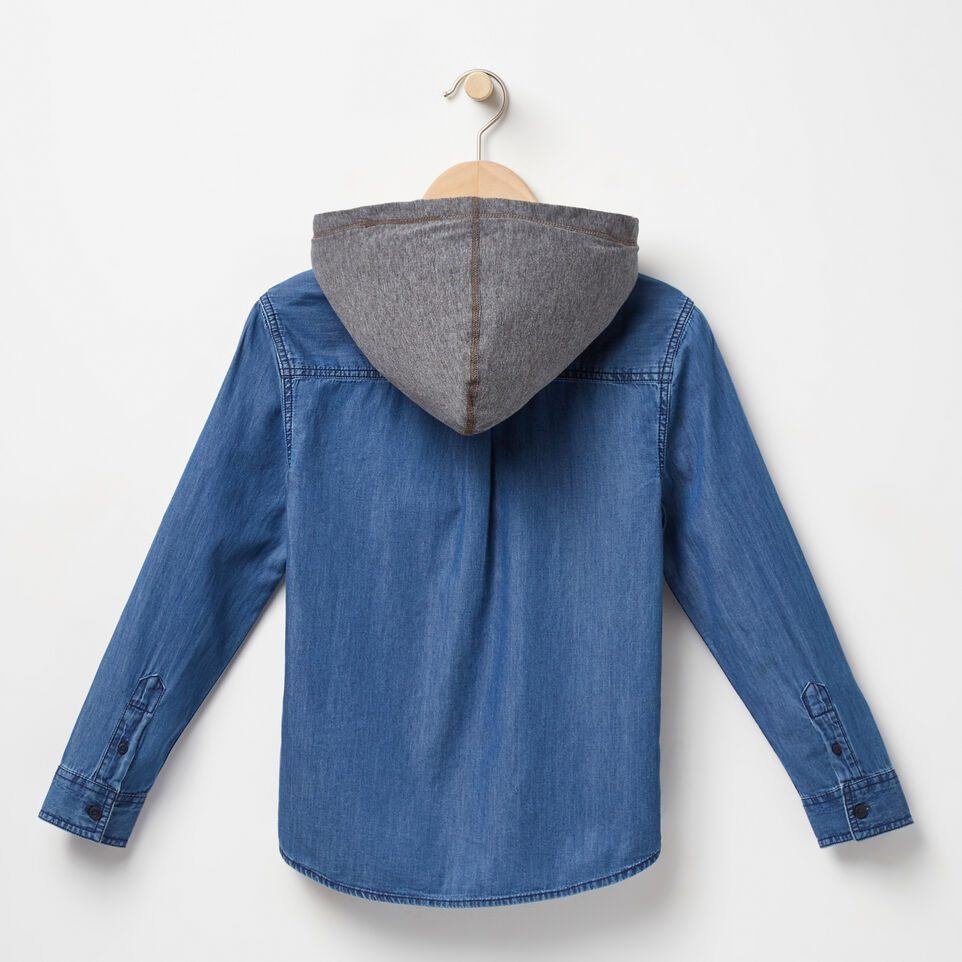 Roots-undefined-Boys Rupert Hooded Shirt-undefined-B