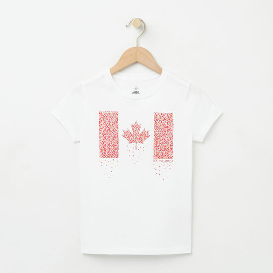 Girls Confetti Canada T-shirt