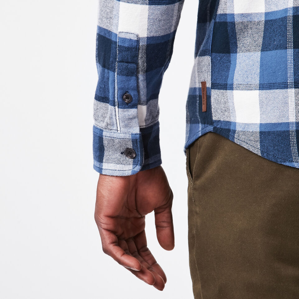 Roots-undefined-Stoney Point Flannel Shirt-undefined-E