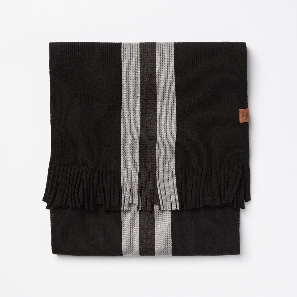Roots-undefined-Log Cabin Stripe Scarf-undefined-A