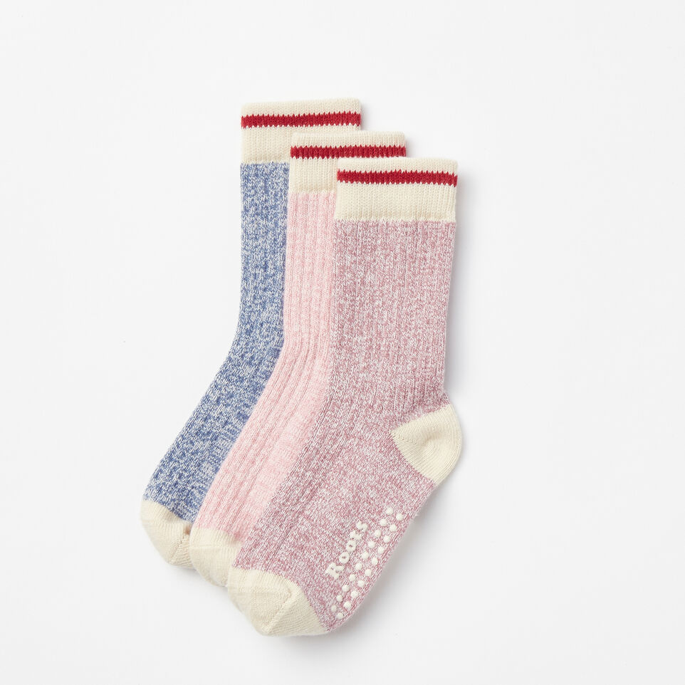 Roots-undefined-Tout-Petits Chaussettes Cabane Pqt3-undefined-B