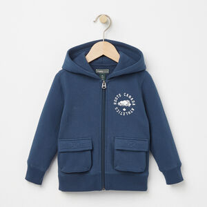 Roots-Kids Tops-Toddler Brandon Full Zip Hoody-Insignia Blue-A