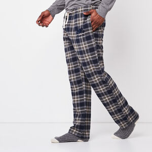 Roots-Men Plaids-Mens Lounge Pant-Navy Blazer-A