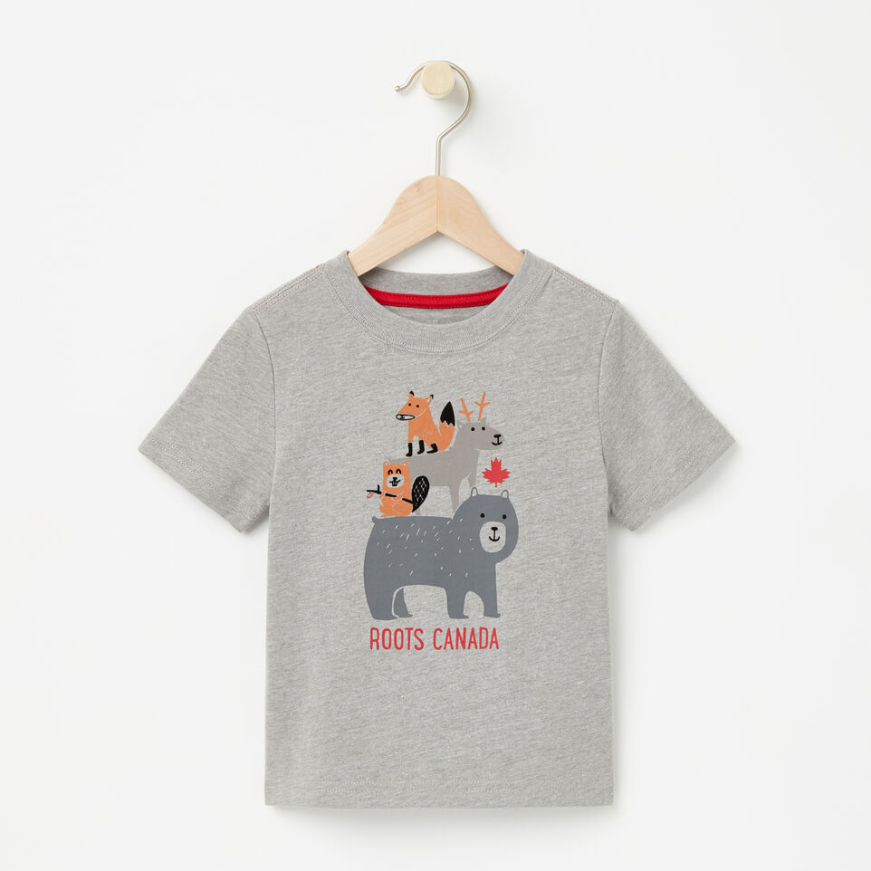Roots-undefined-Toddler Forest Buddies T-shirt-undefined-A