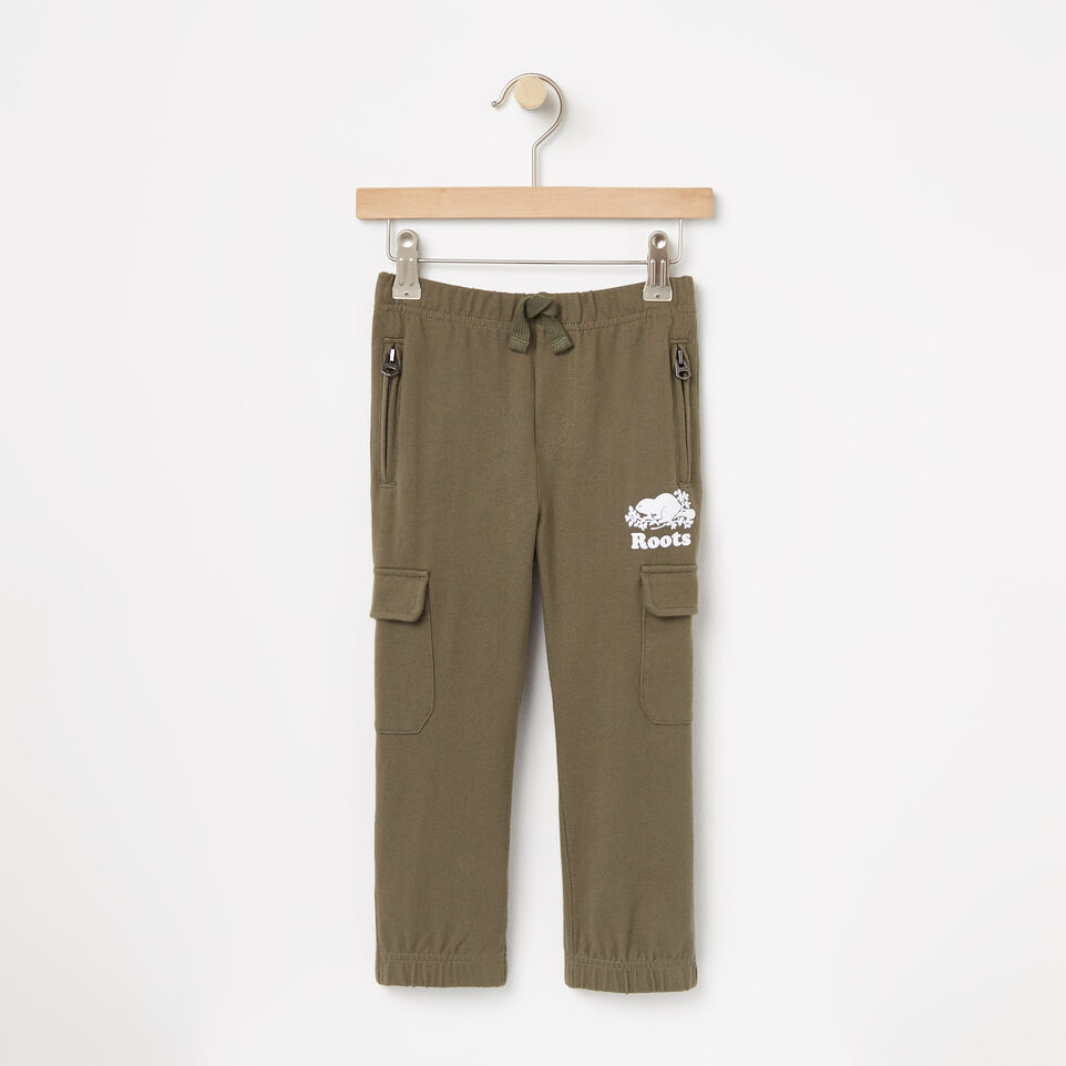 Roots-undefined-Toddler Heavyweight Jersey Utility Pant-undefined-A
