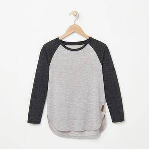 Roots-Sale Kids-Girls Jules Top-Grey Mix-A
