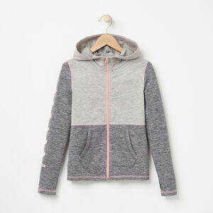 Roots-Sale Girls-Girls Laval Jacket-Charcoal Mix-A