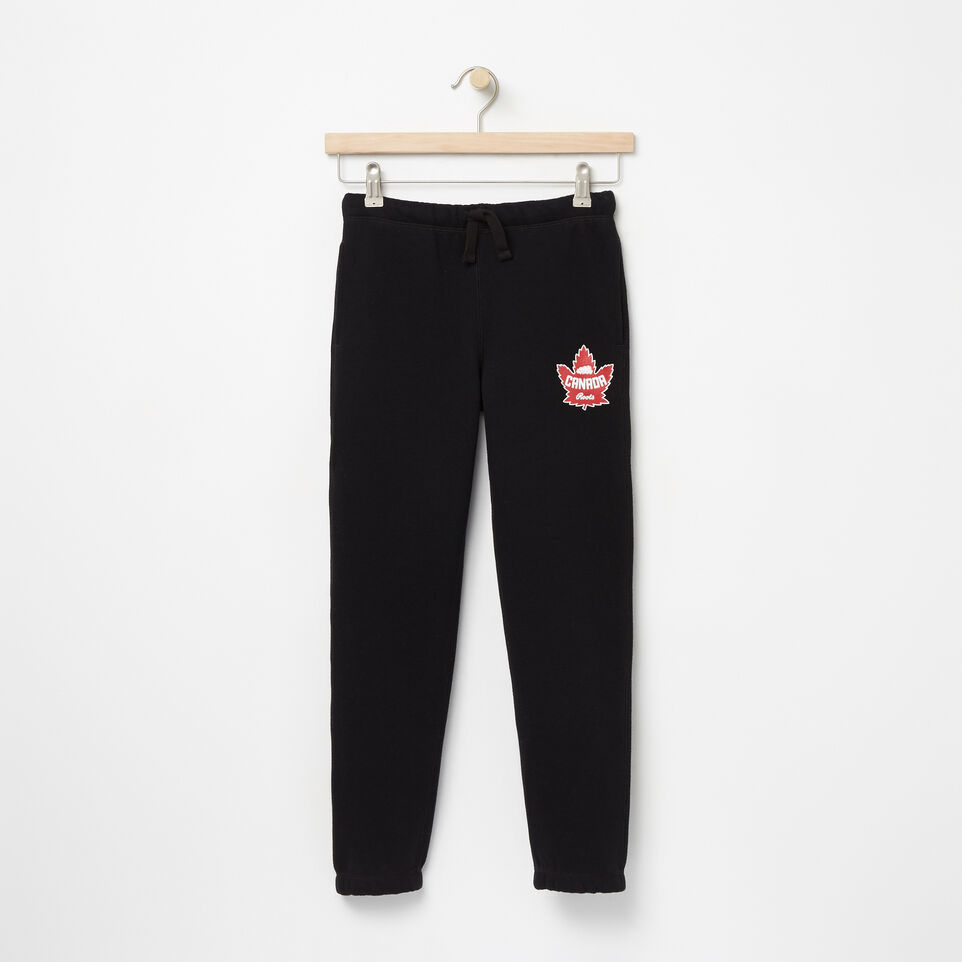 Roots-undefined-Boys Heritage Canada Slim Sweatpant-undefined-A
