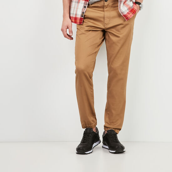 Roots-Men Pants-Forrester Jogger-Calfskin Tan-A