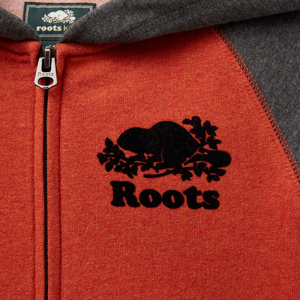 Roots-undefined-Boys Cozy Original Full Zip Hoody-undefined-D