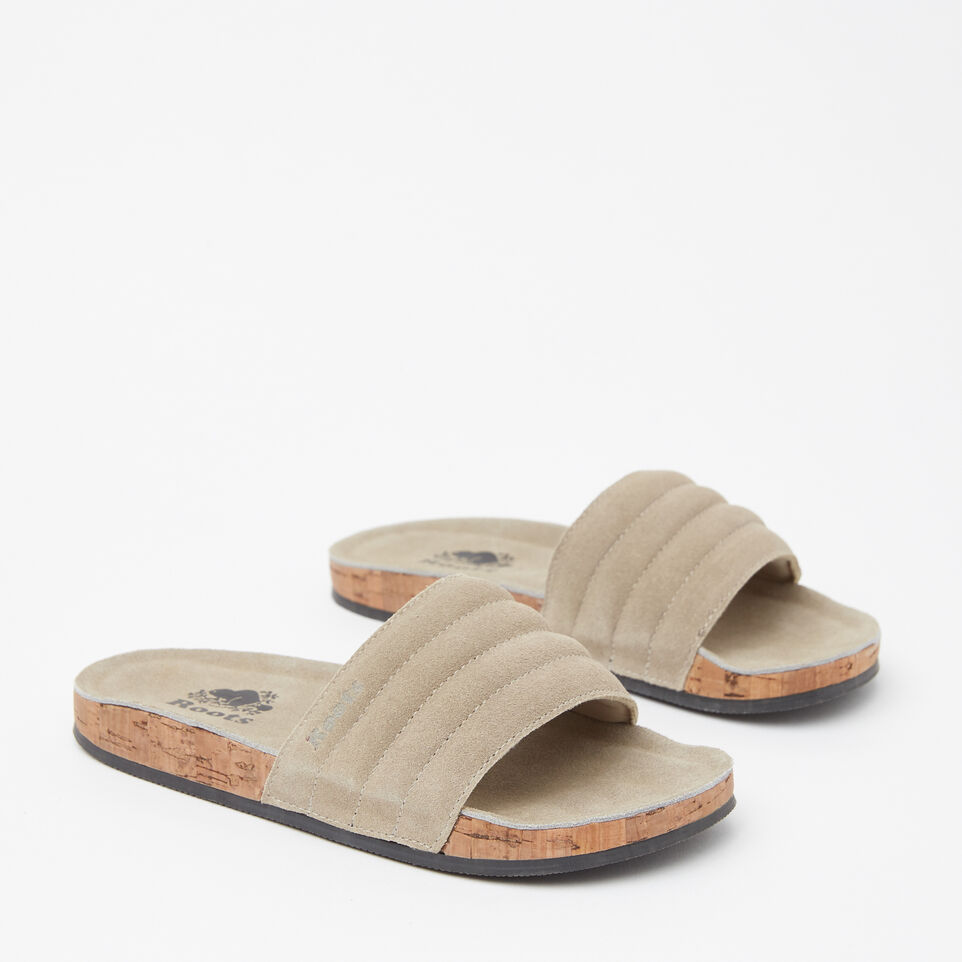 Roots-undefined-Womens Roots Slide Suede-undefined-B