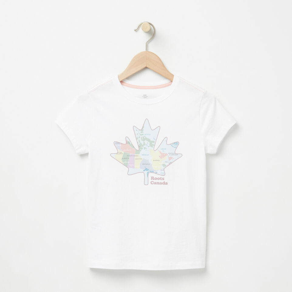 Roots-undefined-Girls Coastal Maple T-shirt-undefined-A