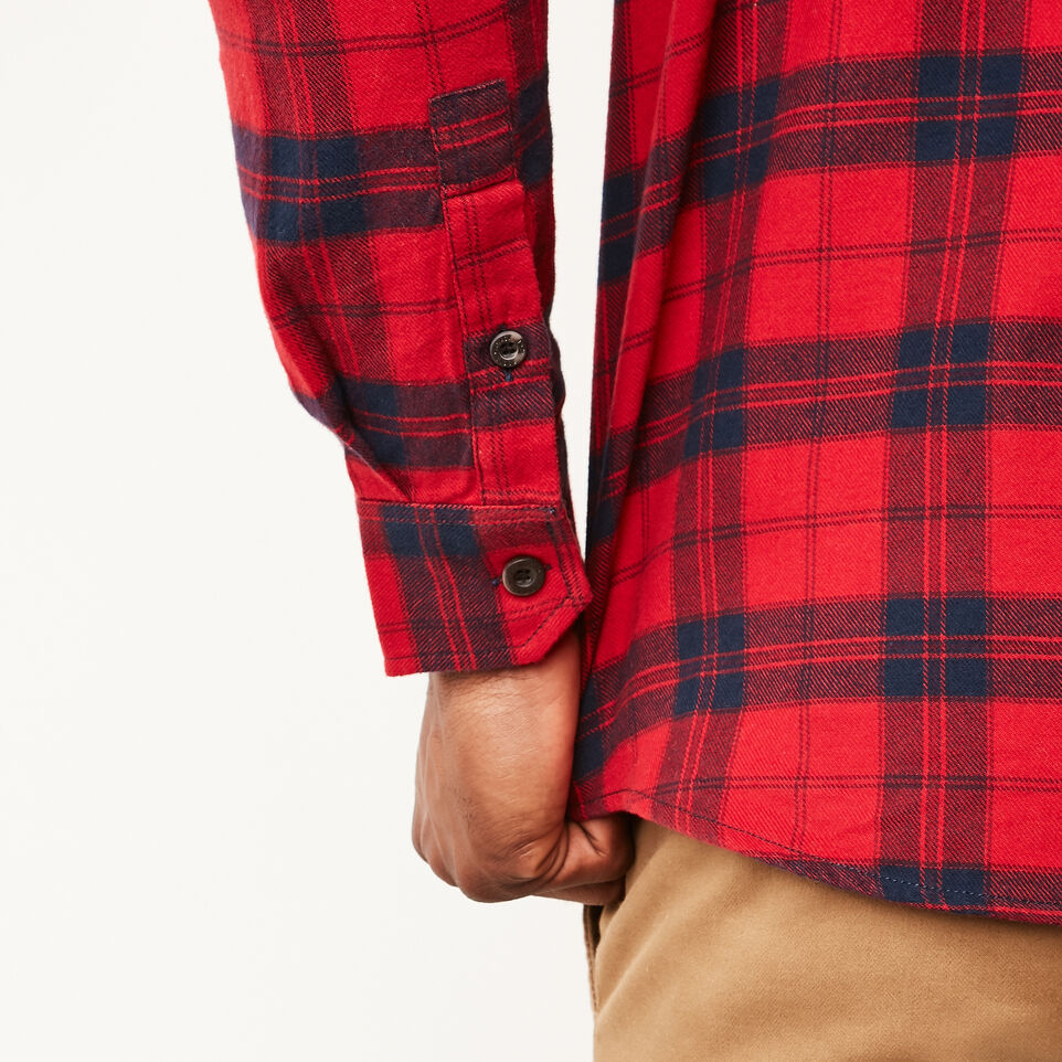 Roots-undefined-Manning Light Weight Flannel Shirt-undefined-E