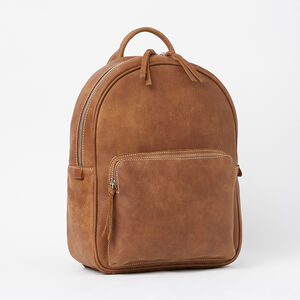 Roots-Leather Backpacks-Chelsea Pack Tribe-Africa-A