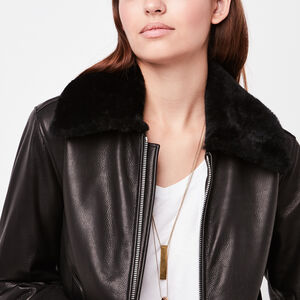 Womens - Leather Jackets | Roots